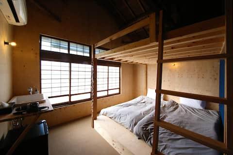 2020.3月オープン『-Shu-TOMARIGI HOSTEL』高知市中心部に位置する宿