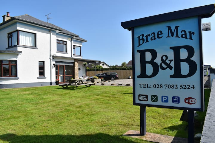 Brae-Mar B&B Portrush - Double En Suite