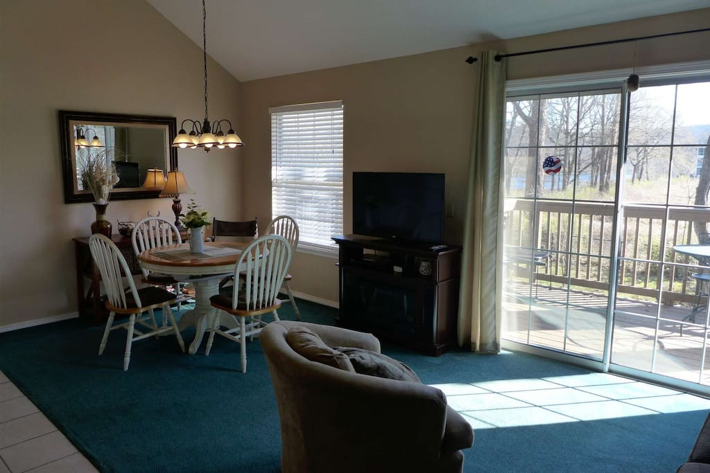 Second Half of condo, Living/Dining Area.