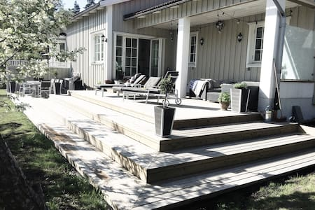 Villa close to  nature and central Stockholm