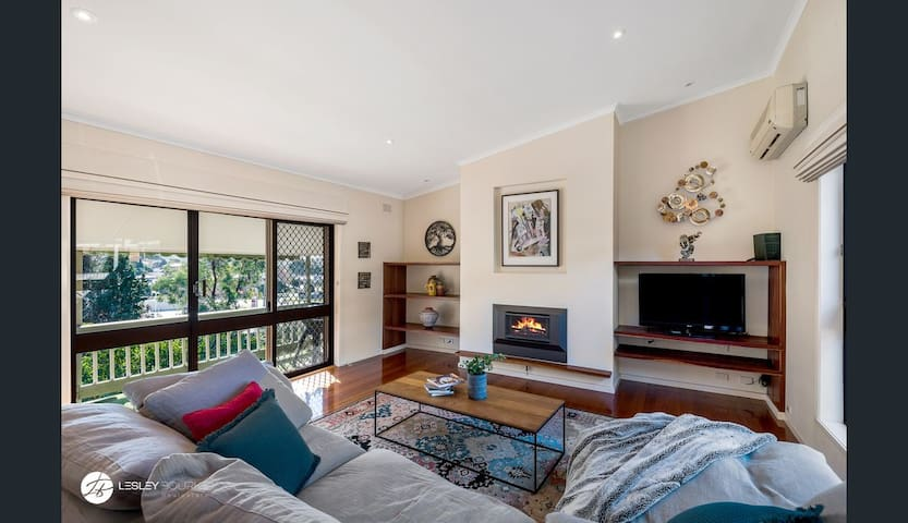 Family retreat with treetop surrounds