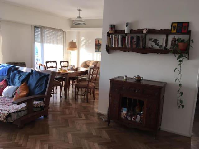 Apartamento luminoso en el corazón de Buenos Aires