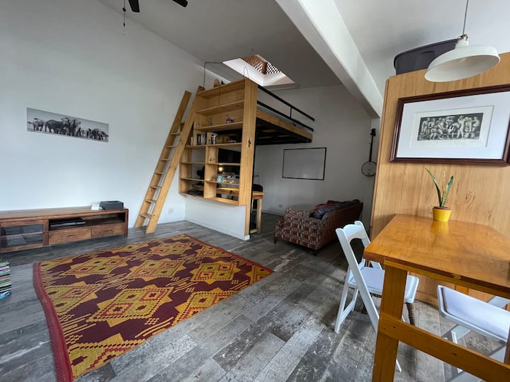 Beautiful Fully Equipped Loft East of San José