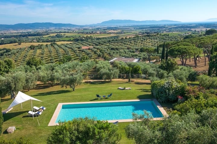 Villa with pool in the middle of Maremma - Magliano in Toscana - Villa