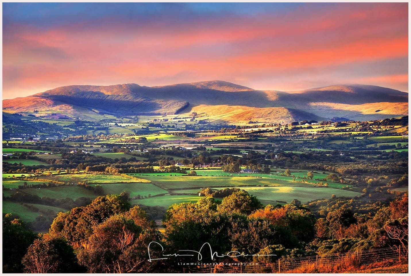 Beautiful local scenery- photo by local photographer Liam McClean