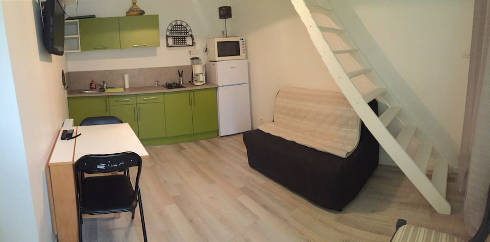 Studio 3/4 pers. tout Confort - Vacheresse - Appartement