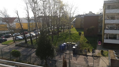 Nordbahnhof Hanau, modernes gemütliches Wohnzimmer
