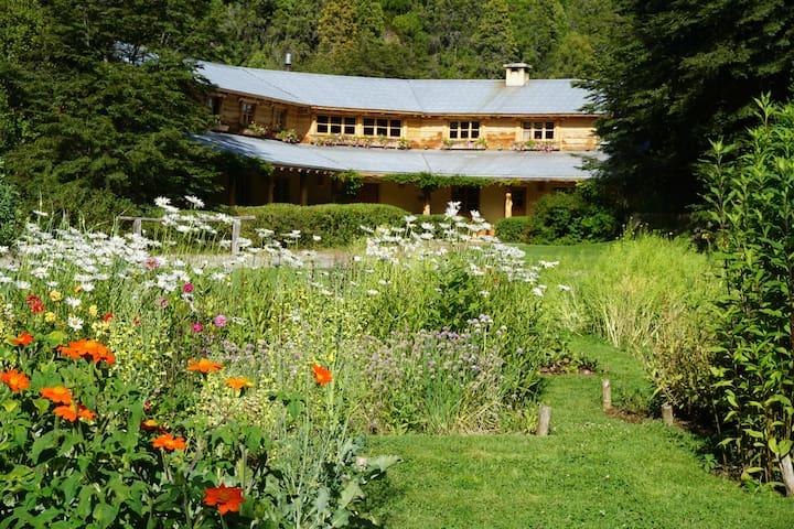 La Confluencia Lodge, Comfort off-the-grid