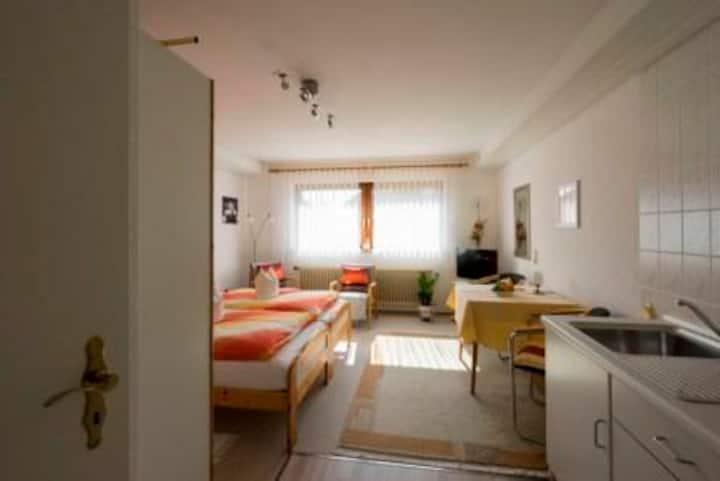 Haus Mitschele, (Schömberg), Appartement Rosenblick, 26qm, 1 bis 2 Personen