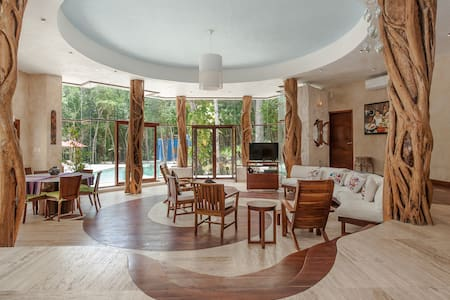 A TOTAL DIFFERENT EXPERIENCE ECO LUXURY IN  JUNGLE - Chemuyil - Haus