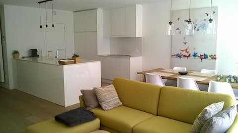 Beautiful, new and cosy apartment in De Haan