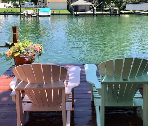 Boat House is a Vacationer.Fisherman.Swim Paradise