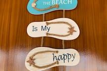 Good & Fun vibe beach cottage.