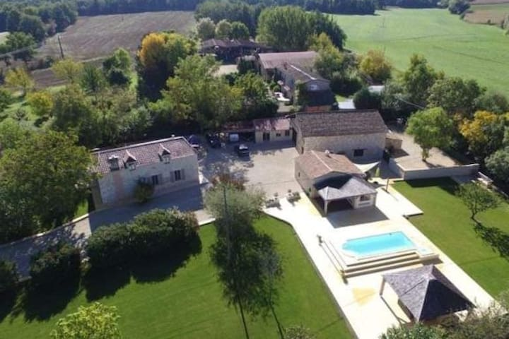 Southern French villa with modern luxuries on hand