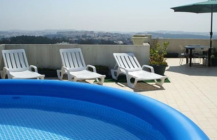 Sintra |Mountain&Sea Views | Terrace&Pool |Parking - SIntra - Aamiaismajoitus