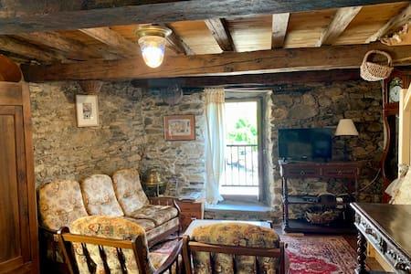 Maison de vacances en pierre à Saleix