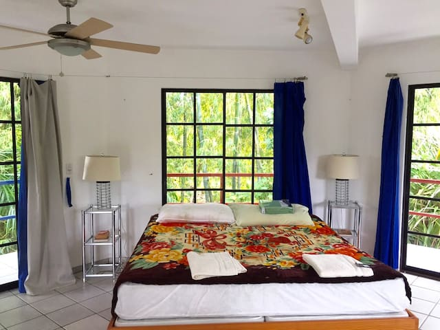 Spacious One Bedroom Villa Surrounded by Nature! - Cabarete - Casa