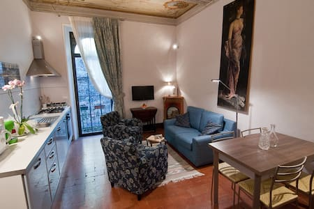 Red Tea Apartment in central town - Montepulciano - Wohnung