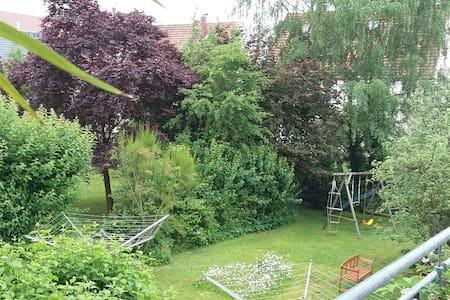 Grüne Oase für Eltern Kind in NES - Bad Neustadt an der Saale - Appartamento