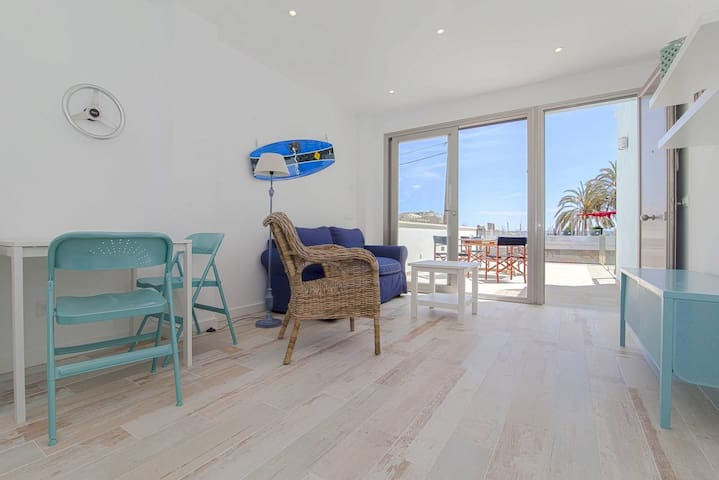 20m Terrace sea front-Can Pastilla-1