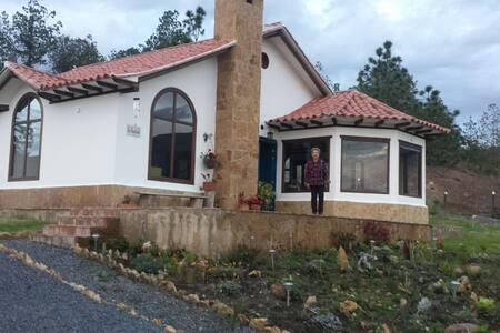 Casa estilo loft vista panoramica - Villa de Leyva - House