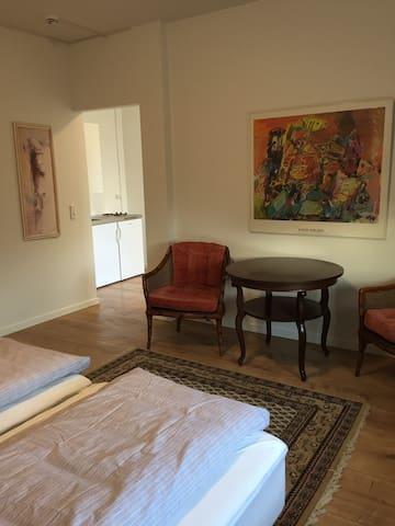 1 værelses studio lejlighed