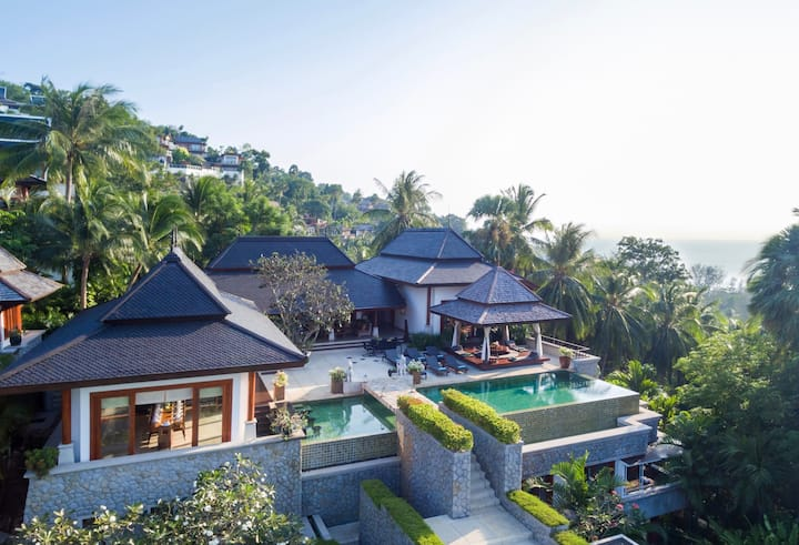 Villa Sanyanga, Surin beach, chef & transport