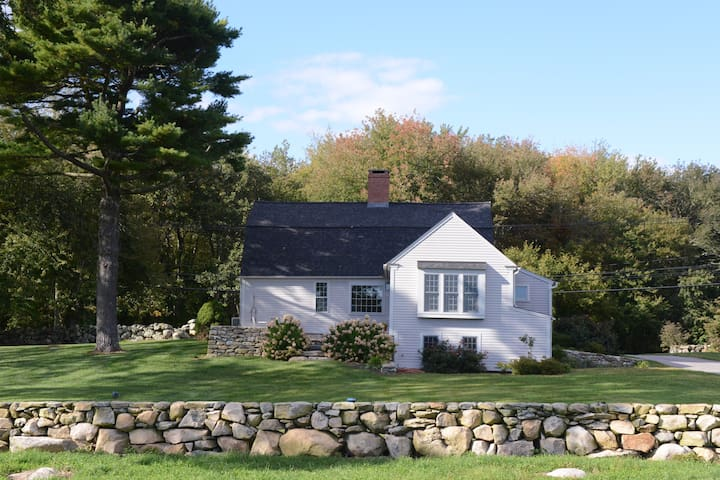 Charming 1740 renovated house on a 100 acre farm.