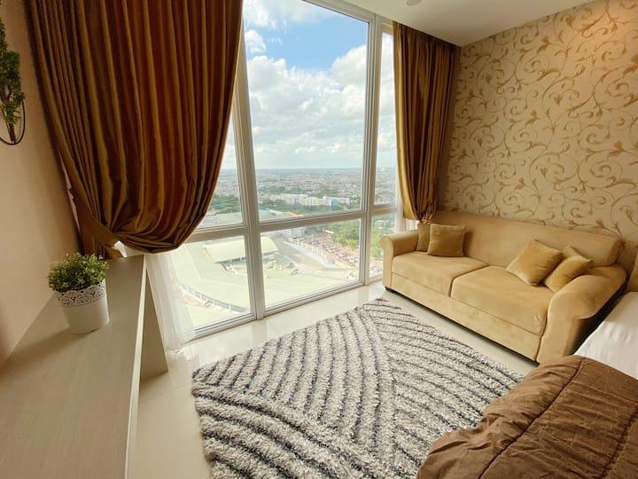 (NEW) Cozy Stay @ U-Residence 3 Lippo Karawaci