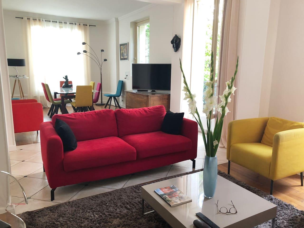 Grand salon séjour de 50 m2