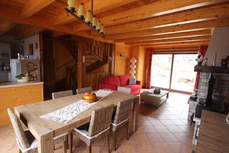Maison Des Marmottes 6-8 personnes - Font-Romeu-Odeillo-Via - 一軒家