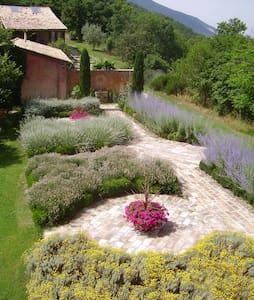 Garden facing apartment, sleeps 2, (Lorenzetti) - Assisi - Apartemen