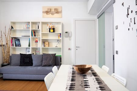 Modern apartment with private parking and garden