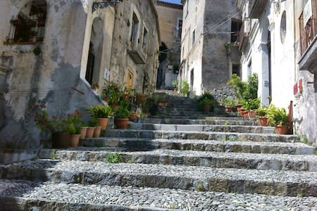On historic steps - Scalea - Apartment