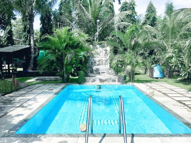 2 BHK Private Villa with a Private Pool