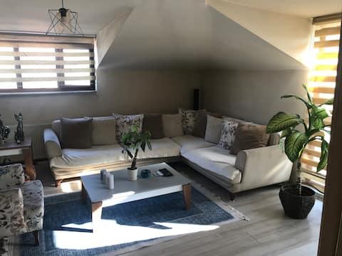 1Istanbul View Rumah Atap Teras + Kamar Nyaman +Wi - Fi