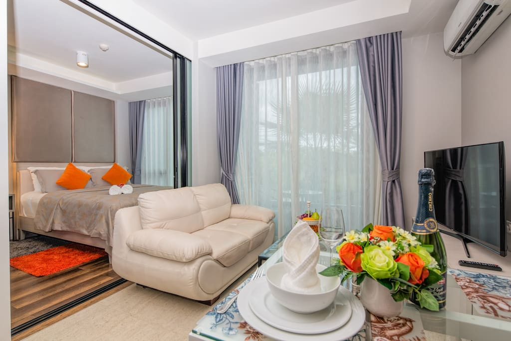 Let this  lovely apartment be your home in Phuket!