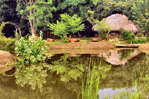 Ackara Vissa Eco Farm Retreat  Yala Safari Cottage