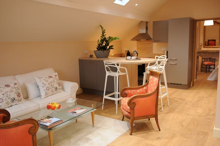 Appartement 2/3p neuf dans une demeure de famille - Marssac-sur-Tarn - Lejlighed