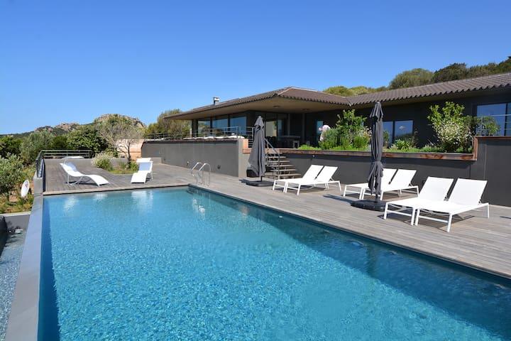 Villa de luxe aux portes de Bonifacio en Corse - Pianottoli-Caldarello - Villa