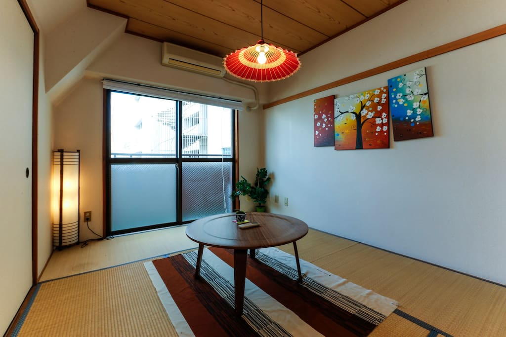 The typical Japanese style room