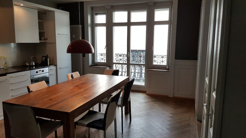 Luxurious 3 room apt. located in Central Zurich - チューリッヒ - アパート