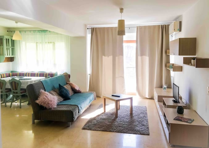 Spacious apartment close to the Airport