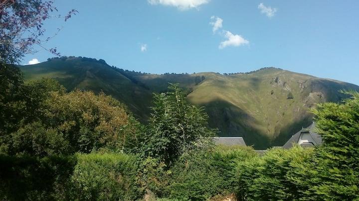 Charmante maison au coeur de Larrau, vue montagnes
