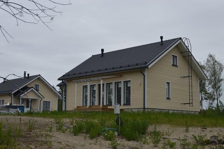 Rauhallinen omakotitalo Tampereen lähellä
