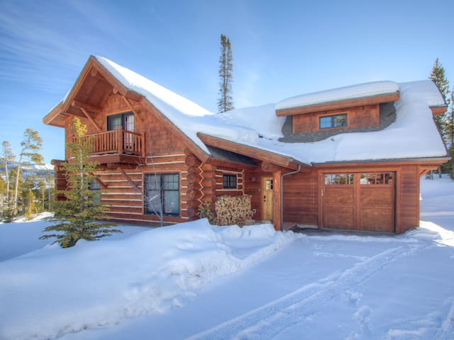 Powder Ridge Frontier Cabins by Big Sky Vacation Rentals 4 Bed 3 Bath Sleeps 10