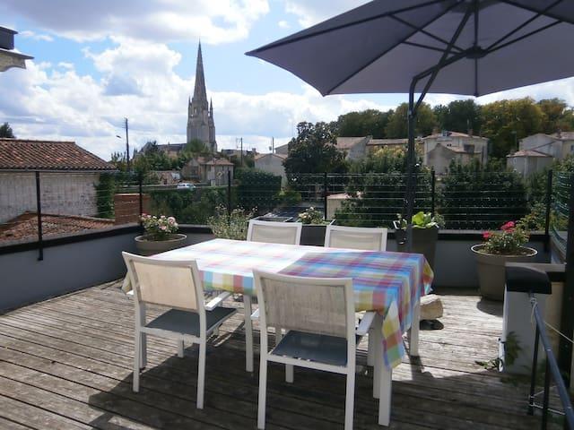 Maison de maître en coeur de ville  - Fontenay-le-Comte - House