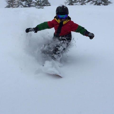 Deep snow awaits!