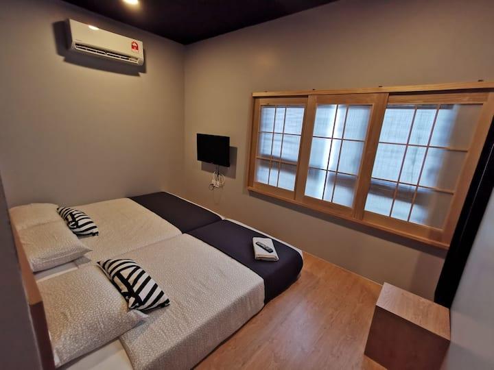 Tatami@D'Tepi Laut-Japanese Triple Room(R)-PANGKOR