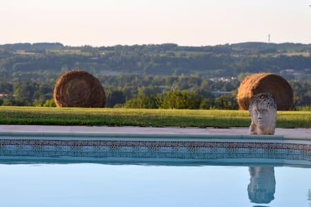 Maison de vacances calme avec vue exceptionnelle